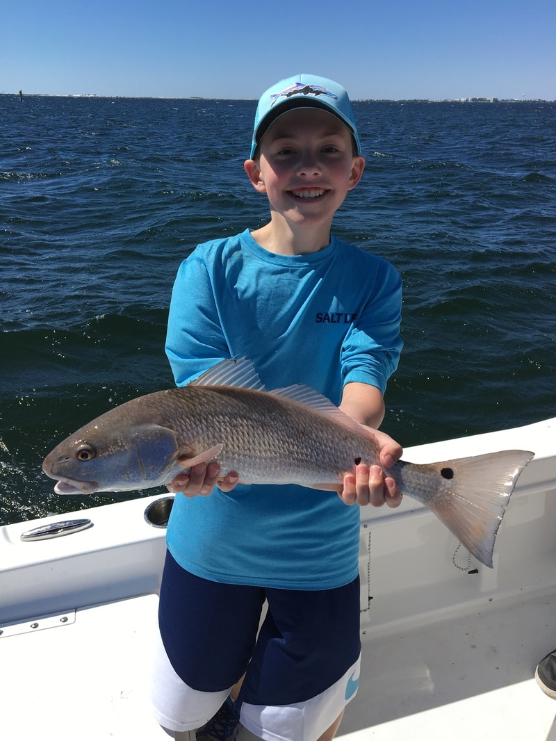 Destin inshore fishing charters destin inshore guides for Bay fishing destin fl