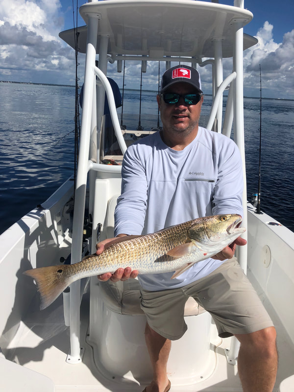 Destin, florida fishing with Destin Inshore Guides on Inshore Bay Fishing Charters