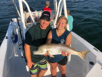 destin inshore bay fishing in destin florida