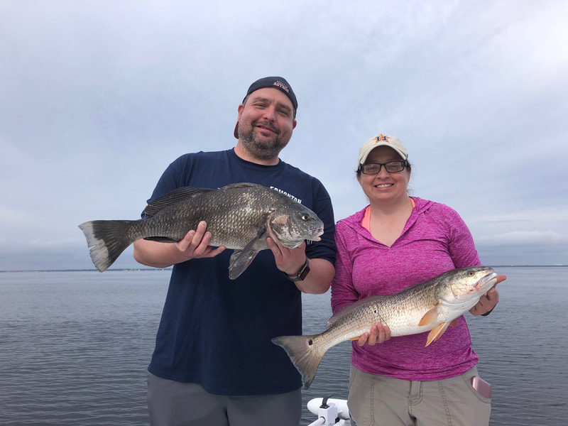 destin inshore fishing, destin bay fishing in destin florida with Destin Inshore Guides
